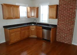 Hardwood Floor In The Kitchen Filenewly Renovated Kitchen With Hardwood Floorjpg Wikimedia