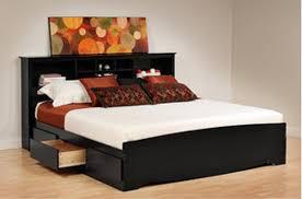 cheap king platform bed. Prepac Brisbane King Platform Storage Bed With Headboard Cheap S