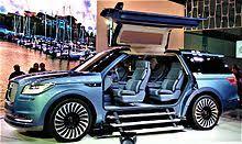 2018 lincoln navigator concept. plain 2018 lincoln navigator concept at the 2016 la auto show for 2018 lincoln navigator concept