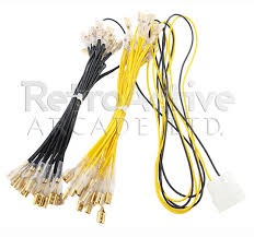 12v led wire harness retro active arcade 12v led 32 pin wiring harness 187
