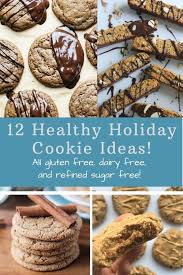 12 days of healthy holiday cookies