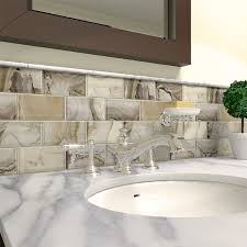 backsplash inspiration lake and home allen and roth