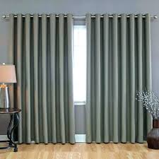 curtains over sliding glass doors with blinds door panel curtains how