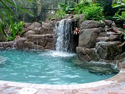 in ground pools with waterfalls. Swimming Pools With Waterfalls In Ground