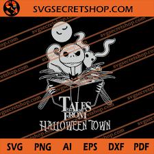 Lolayirt > the nightmare before christmas / el extraño mundo de jack > halloween town. Tales From Halloween Town Svg Nightmare Before Christmas Svg Jack Skellington Svg