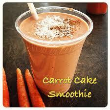 carrot cake smoothie blog