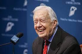 Oud-president Jimmy Carter is ...