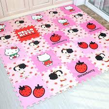 cat from hell puzzle rug kitty environmental protection pad infant baby game cushion foam tatami mix cat puzzle rug