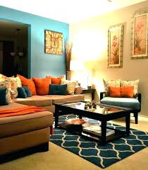 orange living room decor orange decor for living room teal yellow brown living room orange cor