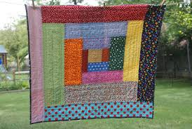 BABY CABIN LOG PATTERN QUILT | Sewing Patterns for Baby & Free Log Cabin Crib & Doll Quilt Pattern Instructions Adamdwight.com
