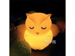 <b>Светильник</b> Эврика Сова USB 98960