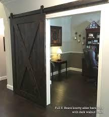 single barn doors hardware x brace