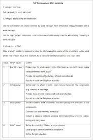 Software Development Plan Template Texas Vet