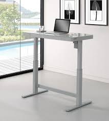 office glass desk.  desk omni adjustable height glass top desk  4725 intended office e
