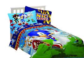 Sonic Bedroom Decor Sega Sonic The Hedgehog Sonic Speed Twin Sheet Set Amazonca