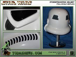 Stormtrooper Helmet Display Stand Impressive YodasNews Review Of EFX Star Wars Episode IV Stormtrooper Helmet