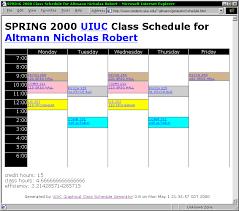 college calendar maker class schedule maker calendar maker schedule gif questionnaire