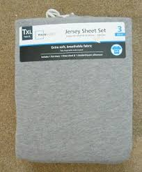mainstays jersey knit sheet set for