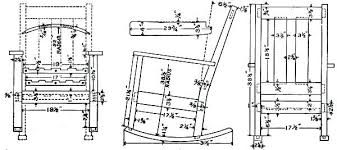 rocking chair drawing easy. full size of how to make a rocking chair out wood plain drawing easy