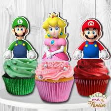 Memovan super mario brothers cake toppers, 6pcs mario action figures toys, mario birthday cake topper cupcake topper, mario cake decorations for kids birthday baby shower mario theme party supplies. Have Fun With These 12 Awesome Super Mario Party Supplies Catch My Party