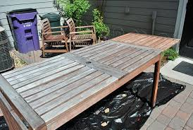 Ikea patio furniture reviews Umbrella Update On How Ikea Applaro Furniture Held Up After Years And Tutorial On Restaining And Weather Proofing Ikea Hack Pinterest Patio Ikea And Ikea Pinterest Update On How Ikea Applaro Furniture Held Up After Years And