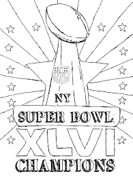 Small Picture Super Bowl Trophy Coloring Pages GetColoringPagescom