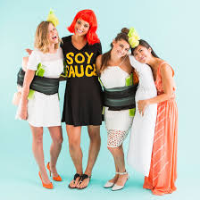 dress up like sushi for the best group costume ever brit co