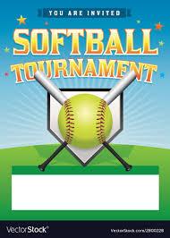 Free Baseball Flyer Template Softball Flyer Template Magdalene Project Org