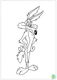 Small Picture Wile e Coyote Coloring page DinoKidsorg