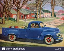1950 Studebaker Pickup Truck Stock Photo: 184178523 - Alamy