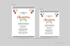 Company Christmas Party Invites Templates Company Christmas Invitations Template Merry Christmas Party Invitations Ms Word Photoshop Elements Template Instant Download