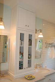 Bathroom Cabinet Tower 17 Best Images About Bathrooms Powder Rooms On Pinterest