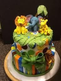 Safari Cakes U2013 Decoration Ideas  Little Birthday CakesBaby Shower Safari Cakes