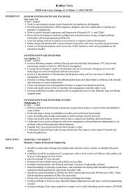 Software Engineer Resume Sample System Software Engineer Resume Samples Velvet Jobs 22