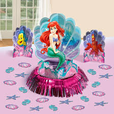 Disney Theme Decorations Disneys Little Mermaid Themed Party Supplies And Ideas Fun