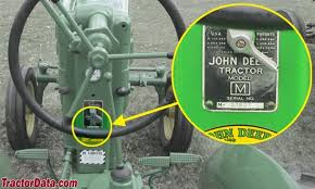 tractordata com john deere m tractor information photo of m serial number