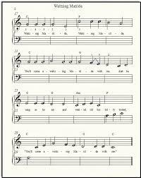 wagon wheel sheet music free popular sheet music waltzing matilda for beginner piano solo or