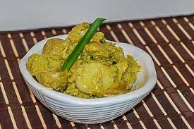 2/3 cup finely diced red onion. Curried Potato Salad With Almonds And Raisins Saha International Cuisine