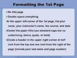 Mla Format For Intext Citations Mla Formatting And Style Guide What Does Mla Regulate Mla