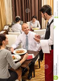 restaurant waiter taking order. Unique Restaurant Business Lunch Waiter Taking Order At Restaurant Stock Photo 24310152   Megapixl For E