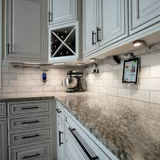 in use in kitchen cabinet fluorescent lighting legrand