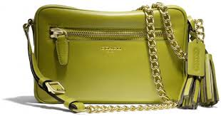 Lyst - Coach Legacy Flight Bag in Leather in Green
