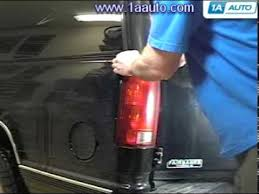 how to install replace taillight chevy silverado gmc sierra Chevy 3500 Wiring Diagram For Tail Lights how to install replace taillight chevy silverado gmc sierra suburban yukon tahoe 88 98 1aauto com youtube Chevy Tail Light Wiring Colors