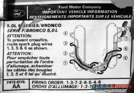 f firing order ford f forum image