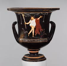 theater in ancient essay heilbrunn timeline of art terracotta calyx krater mixing bowl