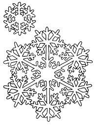 Snowflake Coloring Pages Snowflakes Printable Coloring Pages Free
