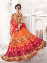 bridal lehenga inspiration of the day the trendy bride indian Wedding Lehenga 2016 for such a unique wedding lehenga ends here what a pretty design and pattern, i like ) would you like to wear this bridal lehnega on your wedding day? wedding lehengas 2016