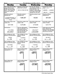 Weekly Homework Fillable Online Weekly Homework Sheet Q1 6 Fax Email Print