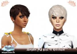 PW Kara Hair 01 & 02 Retexture Naturals + Unnaturals at Shimydim Sims »  Sims 4 Updates