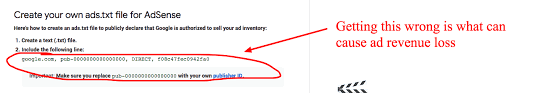 ads txt google adsense